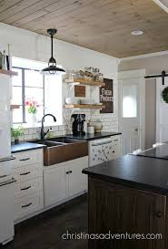 kitchen painted gray kitchen cabinets white u0026 black kitchen