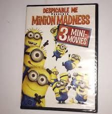 despicable me 3 mini movie marathon minion madness dvd new w