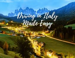 driving italy driving in italy made easy guaranteed throne vine