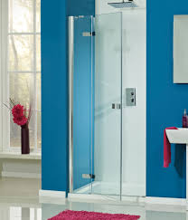 Easy Clean Shower Doors A Luxury Frameless Hinged Shower Door Which Has Easy Clean Glass