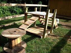 Rabbit Hutch From Pallets Would Love To Watch The Littles On This Goats Pinterest