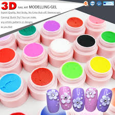 40261 canni 3d nail art beauty painting gel carving gel 24 colors