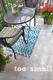 Rug Outdoor How To Paint This Diy Outdoor Rug In Three Easy Steps Diy Playbook