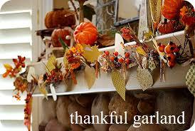 thanksgiving project make a thankful garland