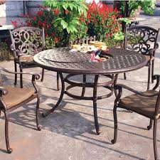 Aluminum Patio Furniture Set - cast aluminum patio dining sets ideas home and garden decor