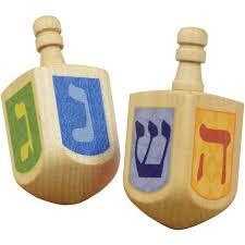 hanukkah toys wooden dreidels oompa toys