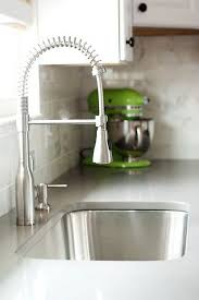 faucet kitchen sink industrial spiral faucet bought at lowes or a similar one is