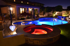 custom pool and backyard from saturn pool company phoenix az