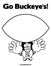 ohio state buckeyes coloring pages virtren com