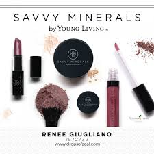 new savvy minerals makeup line drops of zeal