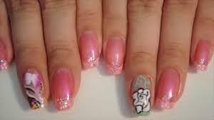 prom nail design youtube