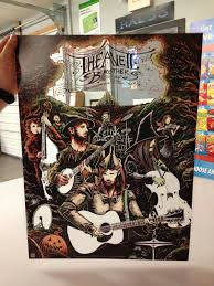 inside the rock poster frame blog miles tsang avett brothers