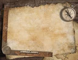 treasure map blank treasure map background with compass and ruler