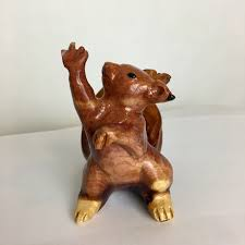 Dramatic Squirrel Meme - dramatic squirrel carved from cedar wood 3 inches tall album on