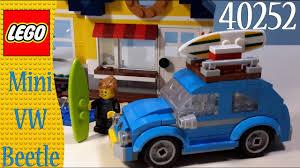lego volkswagen inside lego creator 40252 mini vw beetle quick build youtube