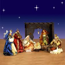 Outdoor Lighted Nativity Sets For Sale Holiday Nativity Scenes And Sets Christmas Night Inc