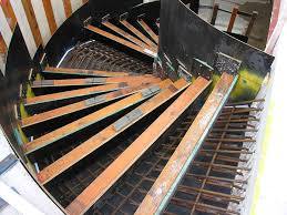 curved staircase formwork cjp concrete pumping