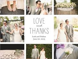 wedding thank you notes noahs weddings
