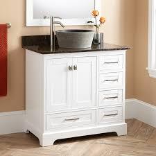 Powder Room Vanity With Vessel Sink Beautiful Modern Vanity Signature Hardware