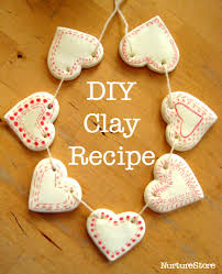 diy clay bunting clay recipe clay and