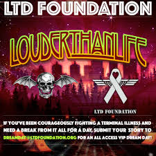Avenged Sevenfold Flag Avenged Sevenfold Partner With Living The Dream Foundation For