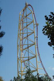 Six Flags Over Georgia Superman Ultimate Flight Roller Coaster Elements