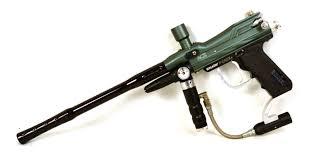 spyder fenix electronic acs paintball marker gun black green 5863