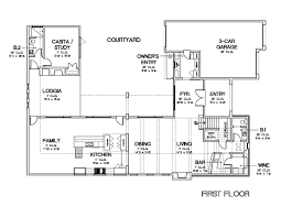 style home plans with courtyard house plan with courtyard large size of pool home plan amazing in
