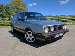 vw golf mk2 gti 16v 3 door jade green in harrogate north