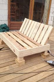 siege en palette decoy construcción meubles avec des palettes recyclées pallets