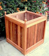 the sonoma finial planters built to last decades forever redwood