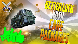 get better care package black ops 3 tips tricks how to get better luck with care