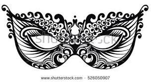 beautiful mardi gras masks beautiful mask lace mardi gras vector stock vector 526050907