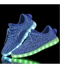 light up shoes for adults men glidekicks mens light up led shoes blue low top sneakers laces woven