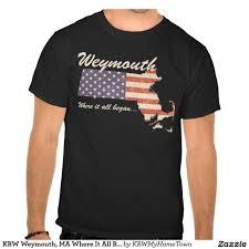 krw weymouth ma where it all began shirt weymouth ma and