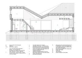 How To Draw A Sliding Door In A Floor Plan Gallery Of House Zilvar Asgk Design 18