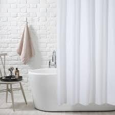 White Shower Curtain Lewis Slub Shower Curtain White At Lewis