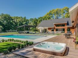 Pool Houses With Bathrooms Apple Blossom Resort 3 Homes 11 Bedrooms 12 Homeaway Union Pier