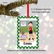 Softball Christmas Ornament - baseball softball gifts personalized gifts for players and