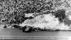 58 fiery crash claims two lives in 1964 indy 500 autoweek