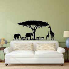 Safari Nursery Wall Decals Safari Wall Decal Animal Wall Decal Stickers Safari Nursery