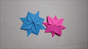 origami christmas star north star origami tutorial how to make