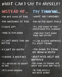 growth mindset words to say instead of can t teaching