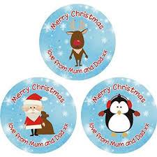 buy 30 50mm merry christmas love mum u0026amp dad gift tags