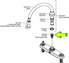 kitchen faucet diverter valve kitchen faucet diverter valve price pfister faucet