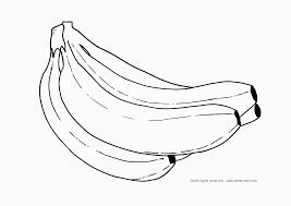 banana coloring pages print coloring home