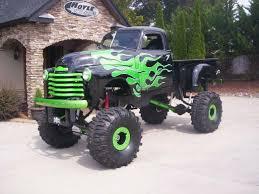 weird stuff wednesday u2013 flintstone car chevy monster truck u002760