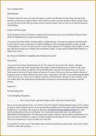 witness letter format
