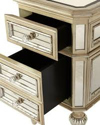 Mirrored Side Table Mirror Side Table Neiman Marcus