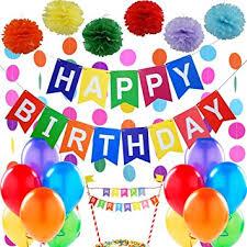 Premium Happy Birthday Decorations Supplies 1 Happy Birthday